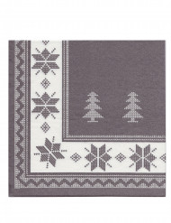 12 tovaglioli di carta grigio Premium 40 x 40 cm