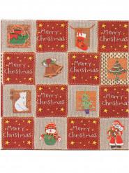 12 tovaglioli di carta spessi Premium Merry Christmas 40 x 40 cm