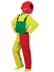 Costume tuta clown adulto