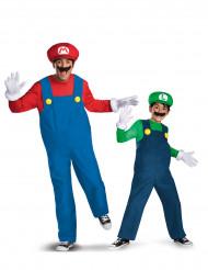 Costume da coppia Mario™ e Luigi™ padre e figlio