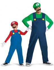 Costume da Luigi™ e Mario™ padre e figlio