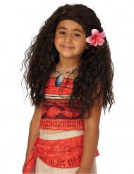 Parrucca da Vaiana™ per bambina
