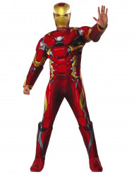 Costume lusso Iron Man™ Civil War adulto - Avengers™