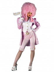 Costume miss rinascimento rosa donna
