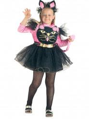 Costume da gatto birichino per bambina