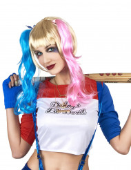 Parrucca Arlecchino diabolico donna