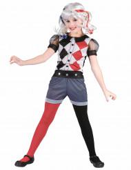 Costume Arlecchino eroina bambina