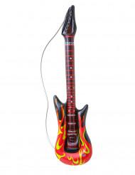 Chitarra rock in fiamme gonfiabile
