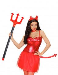 Forca gonfiabile da diavolo 105 cm Halloween