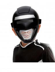Maschera Power robot nera bambino