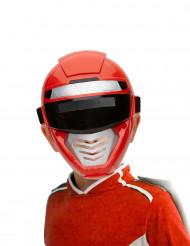 Mezza maschera power robot rosso bambino