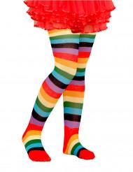Collant multicolore bambino