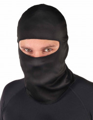 Passamontagna ninja nero adulto