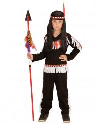 Costume indiano nero per Bambino