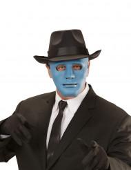 Maschera anonimo blu turchese adulto