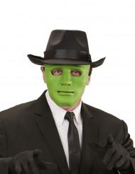 Maschera verde tinta unita Adulto