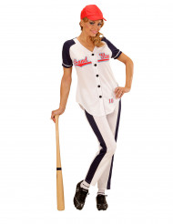 Costume giocatrice baseball Donna