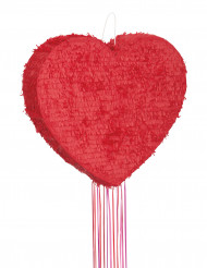Pentolaccia a forma di cuore rosso