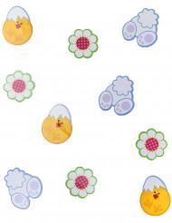 24 decorazioni cartone Pasqua