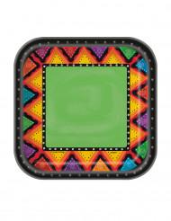 10 Piattini in cartone Messico