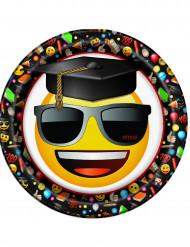 8 piatti di cartone Emoji™