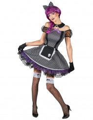 Costume da bambola gotica donna