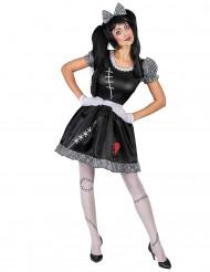 Costume bambola dal cuore infranto donna