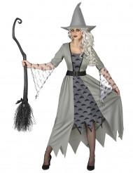 Costume da strega grigia delle nuvole per donna