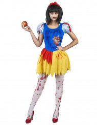 Costume principessa avvelenata e insanguinata donna