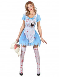 Costume da Alice insanguinata per donna