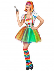 Costume da clown pittore per donna