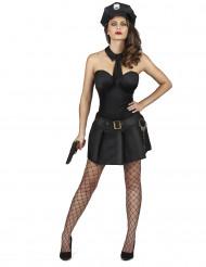 Costume poliziotta sexy dark donna