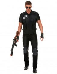 Costume agente della Swat uomo