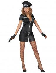 Costume sexy poliziotta donna
