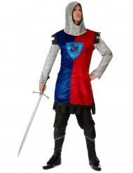 Costume da cavaliere medievale dragone per uomo