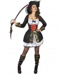 Costume da pirata corsaro sexy per donna