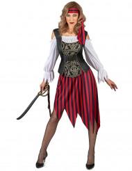 Costume da pirata gipsy per donna