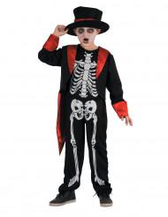 Costume da scheletro elegante per bambino