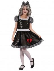 Costume da bambola gotica per bambina