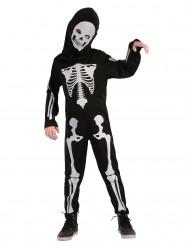 Costume scheletro articolato bambino