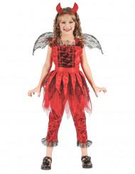 Costume demone del fuoco bambina