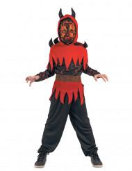 Costume demone del fuoco bambino