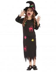 Costume da strega spiritosa per bambina - Halloween