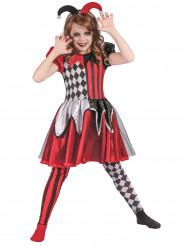 Costume da Giullare monello per bambina