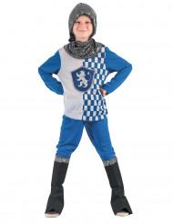 Costume da cavaliere blu per bambino
