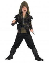Costume da arciere verde per bambino