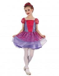 Costume da principessa luna e stelle per bambina