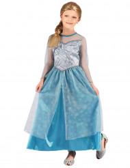 Costume da principessa dei ghiacciai per bambina