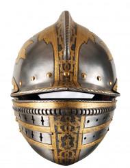 Maschera cartone casco medievale