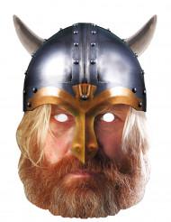 Maschera di cartone Viking